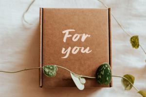 Geschenkverpackung – schlicht bis edel