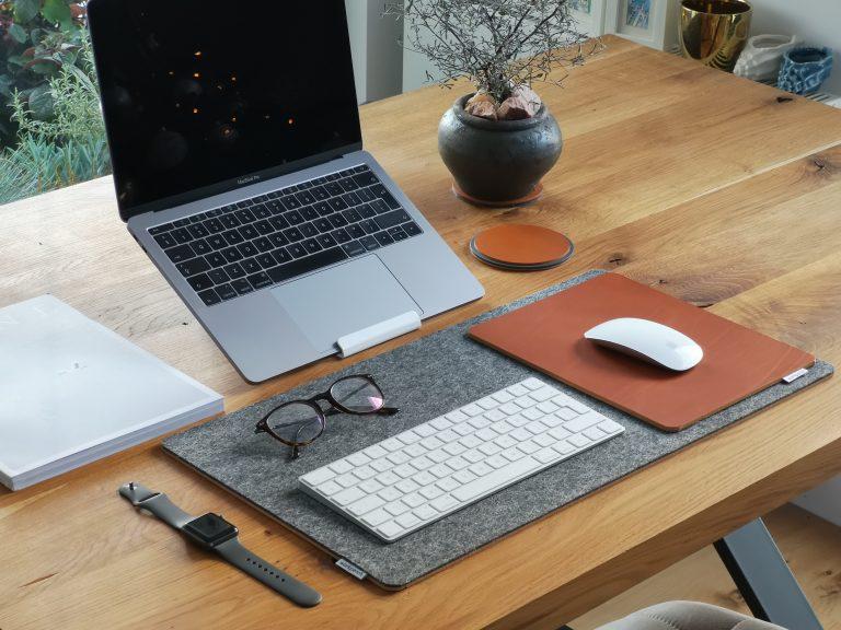 Schreibtischunterlage selbst gestalten